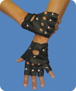 Morris Costumes 10-250 Ez Rider Studded Gloves