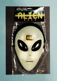 Morris Costumes 10-431 Glo Alien Mask