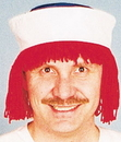 Morris Costumes 12-108 Raggedy Andy Wig With Hat