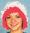 Morris Costumes 12-109 Raggedy Ann Wig With Hat