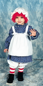 Morris Costumes 12-112 Raggedy Ann Toddler 2 To 4