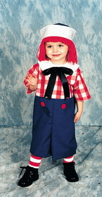 Morris Costumes 12-115 Raggedy Andy Child 4 To 6