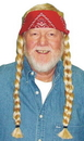 Morris Costumes 13-734 Wig The Old Hippie