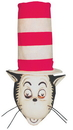 Morris Costumes 14-018 Cat In The Hat Mask W Hat