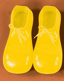 Morris Costumes 51-001 Clown Shoes Yellow 12In