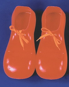 Morris Costumes 51-002 Clown Shoes Red 12In