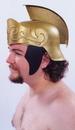 Morris Costumes 95-501 Roman Helmet Gold W Gold Crest