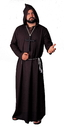 Alexanders Costumes 05BK Robe Monk Quality Black