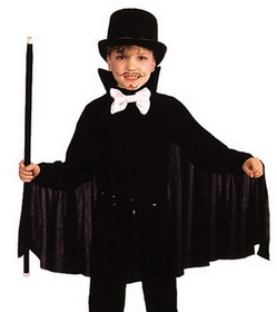Alexanders Costumes 20BK Cape 26In Child Black