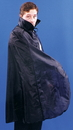 Alexanders Costumes 21BK Cape 45In Taffeta Black