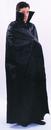 Alexanders Costumes 22BK Cape Floor Length Black