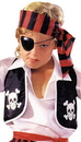 Morris Costumes AB-104 Pirate Vest Child