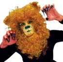 Morris Costumes AB-129 Lion Face Mask Hair Piece