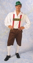 Morris Costumes AC-154MD Lederhosen Medium