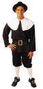 Morris Costumes AC-207MD Pilgrim Man Medium