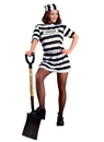 Morris Costumes AC-302 Convict Woman