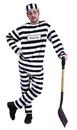 Morris Costumes AC-31 Convict Costume Std