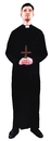 Morris Costumes AC-96 Priest Costume 1 Sz