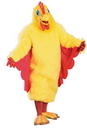Morris Costumes AD-21 Rubie's Costume Co Comical Chicken Costume 1 Size