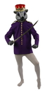 Morris Costumes AD-78PRLG Nutcrackr Or Mouse King Coat L