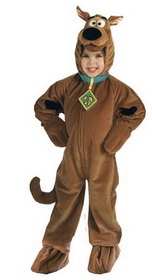 Morris Costumes AF-179SM Scooby Doo Deluxe Child Small