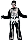 Morris Costumes AF-45MD Skeleton Child Medium