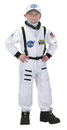 Aeromax Costumes 53MD Astronaut Suit White 8-10