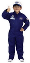 Aeromax Costumes 59MD Flight Suit W Cap Size 8-10