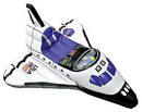 Aeromax Costumes AR-AE2300 Space Shuttle Inflate Age 3 Up