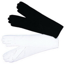 Morris Costumes BA-05BK Gloves Elbow Lgh Black 1 Size