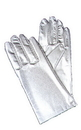 Morris Costumes BA-07SV Gloves Reg Metallic Silver