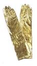 Morris Costumes BA-08GD Gloves Elbow Metallic Gold