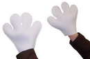 Morris Costumes BA-16 Mouse Mitts White