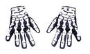 Morris Costumes BA-26 Glove Skeleton Hand Not Glow