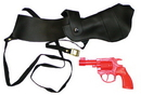 Morris Costumes BB-106 Shoulder Holster With Gun