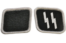 Morris Costumes BB-155 Ss Collar Tabs Pair