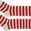 Morris Costumes BB-284 Socks Rag Doll Elf Sml Child