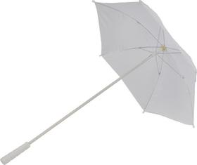 Morris Costumes BB-30WT Parasol Nylon White