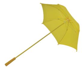 Morris Costumes BB-30YW Parasol Nylon Yellow