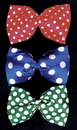 Morris Costumes BB-43BU Bow Tie Jumbo Polkadot Blue
