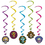 Morris Costumes BG-00923 Day Of The Dead Whirls