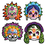 Morris Costumes BG-00927 Day Of The Dead Masks