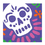 Morris Costumes BG-00938 Day Of The Dead Luncheon Napki