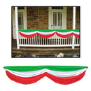 Morris Costumes BG-50948RWG Red White Green Fabric Bunting