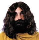 Morris Costumes CA-113BN Biblical Beard & Wig Brown