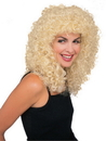 Morris Costumes CA-115BD Wig Curly Extra Long Blonde