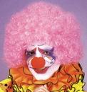 Morris Costumes CA-15PK Afro Wig Pink