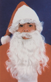 Morris Costumes CA-60 Santa Wig And Beard Child