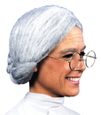 Morris Costumes CA-75 Wig Old Maid Grey