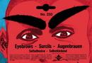 Morris Costumes CB-21BK Eyebrows Super Black